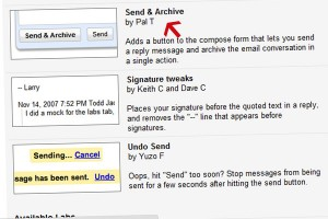 """Send & Archive"" no GMail Labs"