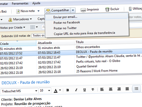 Evernote pt-BR (versão desktop)