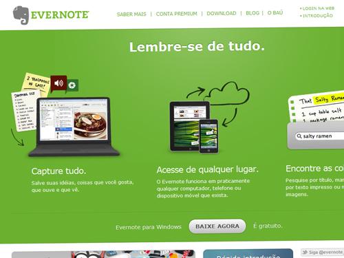Evernote pt-BR (versão web)