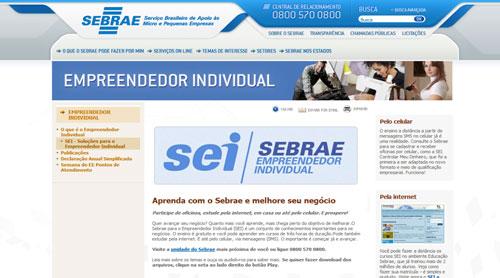 SEI (SEBRAE Empreendedor Individual)