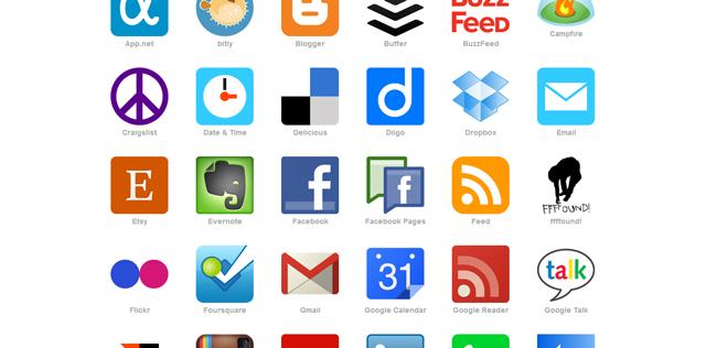 """Clique no menu """"Channels"""" e escolha os serviços que deseja configurar."""