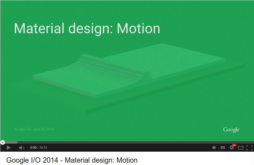 Material-design-Motion