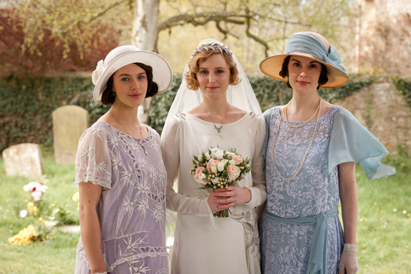 Lady Sybil, Edith e Mary Crawley