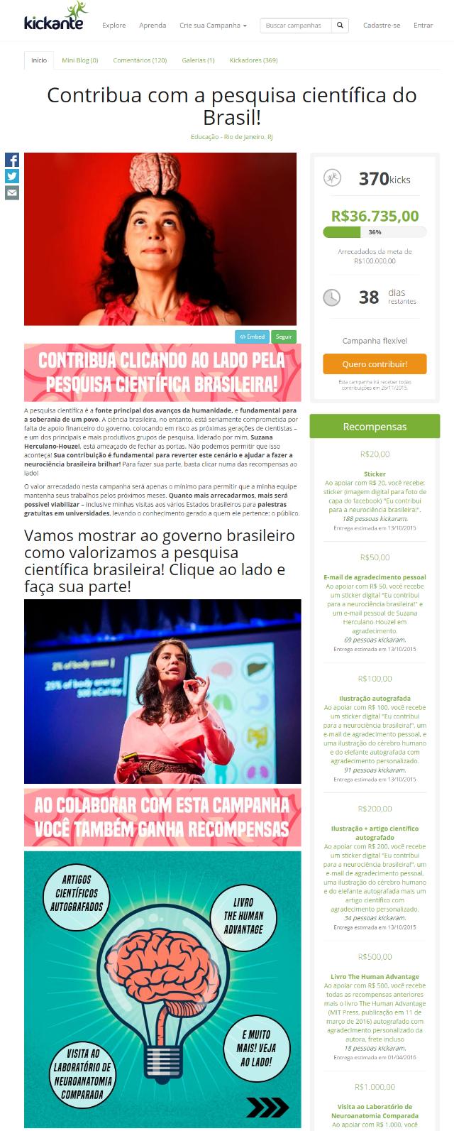 Suzana-Herculano-Houzel-Kickante-Campanha