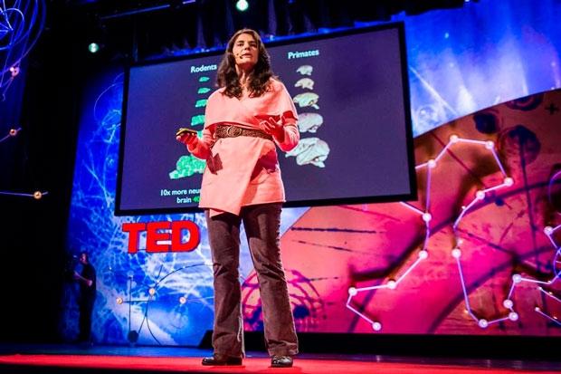 Suzana foi a primeira brasileira a palestrar no TED Global