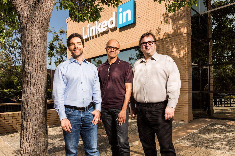 Microsoft vai comprar Linkedin por 26.2 bilhões de dólares